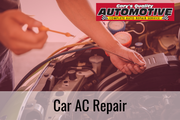 what does car ac service include