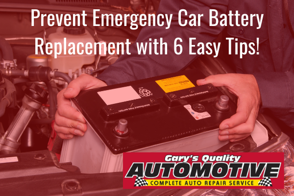 how do you know if your car battery needs to be replaced